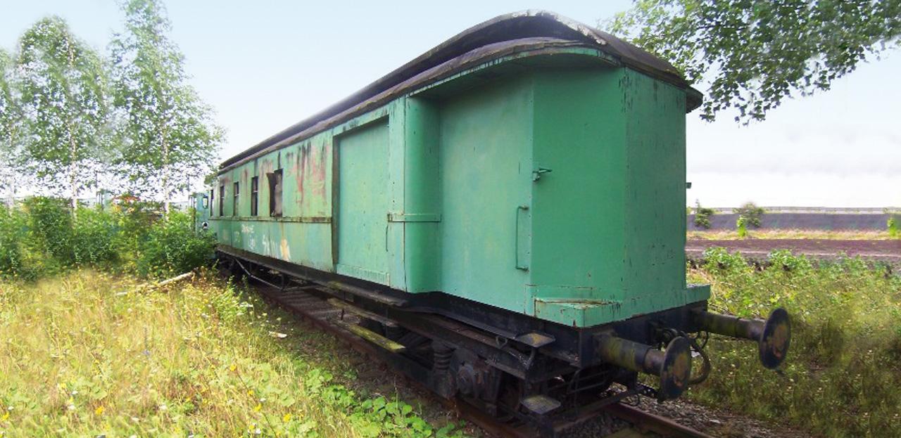 Hofbogen Hofpleintrein - wagon exterieur